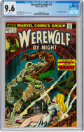 Bronze Age (1970-1979):Horror, Werewolf by Night #13 (Marvel, 1974) CGC NM+ 9.6 White pages....