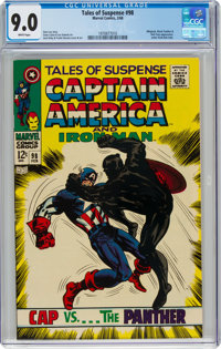 Tales of Suspense #98 (Marvel, 1968) CGC VF/NM 9.0 White pages