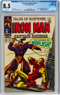 Tales of Suspense #97 (Marvel, 1968) CGC VF+ 8.5 White pages