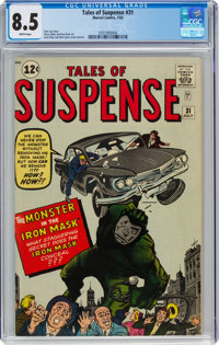 Tales of Suspense #31 (Marvel, 1962) CGC VF+ 8.5 White pages