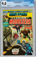 Bronze Age (1970-1979):Superhero, Marvel Premiere #28 Legion of Monsters (Marvel, 1976) CGC VF/NM 9.0 White pages....