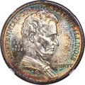 1918 50C Lincoln MS65★ NGC. NGC Census: (1129/361 and 3/14*). PCGS Population: (1371/710 and 3/14*). MS65. Mintage 100,0...