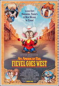 "An American Tail: Fievel Goes West (Universal, 1991). Rolled, Very Fine. Printer's Proof One Sheet (27"" X 41"")..."
