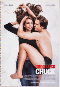 "Good Luck Chuck (Lionsgate, 2007). Rolled, Very Fine-. Printer's Proof One Sheet (28"" X 40.75"") SS Advance. Ro..."