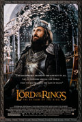 Movie Posters:Fantasy, The Lord of the Rings: The Return of the King (New Line, 2003). Rolled, Very Fine+. Commercial One Sheet & Promotional Poste... (Total: 2 Items)