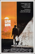 """Movie Posters:Action, To Live and Die in L.A. & Other Lot (MGM/UA, 1985). Rolled, Very Fine-. One Sheet (27"""" X 41"""") & Printer's Proof One Sheet (2... (Total: 2 Items)"""