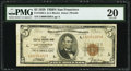Low Serial Number 4369 Fr. 1850-L $5 1929 Federal Reserve Bank Note. PMG Very Fine 20