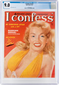 Magazines:Miscellaneous, I Confess V3#2 Marilyn Monroe Cover (Atlas, 1953) CGC VF/NM 9.0 Off-white to white pages....