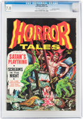 Magazines:Horror, Horror Tales #7 Don Rosa Collection (Eerie Publications, 1969) CGC FN/VF 7.0 Off-white to white pages....