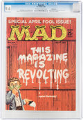 Magazines:Mad, MAD #54 Pacific Coast Pedigree (EC, 1960) CGC NM+ 9.6 Off-white to white pages....
