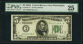 Small Size:Federal Reserve Notes, Fr. 1951-C* $5 1928A Federal Reserve Star Note. PMG Very Fine 25.. ...