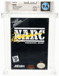 Video Games:Nintendo, NARC [Oval SOQ R] - Indiana Collection Wata 9.4 A Sealed NES Acclaim 1990 USA....
