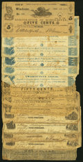 Obsoletes By State:Virginia, Fourteen Obsolete Notes from Winchester, VA. Fair or Better.. ... (Total: 14 notes)