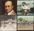 Baseball Collectibles:Photos, Ty Cobb Vintage Hand-Colored Photographs from The Ty Cobb Collection, Lot of 11....