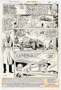 """Dick Ayers and Gerry Talaoc Unknown Soldier #230 Complete 11-Page Story """"To Save a Sparrow!"""" Original Art (DC..."""
