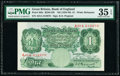 World Currency, Great Britain Bank of England 1 Pound ND (1934-39) Pick 363c First Run PMG Choice Very Fine 35 EPQ.. ...