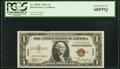 Fr. 2300* $1 1935A Hawaii Silver Certificate. PCGS Superb Gem New 68PPQ
