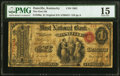 Danville, KY - $1 Original Fr. 380a The First National Bank Ch. # 1601 PMG Choice Fine 15