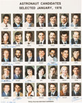 Explorers:Space Exploration, NASA Group Eight Astronaut Candidates Color Photo Signed by Twelve including Ron McNair, Judy Resnick, and El Onizuka from the... (Total: 0 Items)