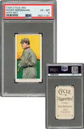 Baseball Cards:Singles (Pre-1930), 1909-11 T206 Cycle 350 Roger Bresnahan (With Bat) PSA EX-MT 6 - Pop Three, None Higher for Brand. ...