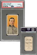 Baseball Cards:Singles (Pre-1930), 1909-11 T206 Cycle 460 Frank Chance (Portrait-Yellow) PSA Good+ 2.5 - Only Seven PSA-Graded Examples. ...
