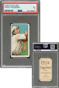 Baseball Cards:Singles (Pre-1930), 1909-11 T206 Cycle 460 Home Run Baker PSA EX 5 - Pop Two, None Higher for Brand! ...