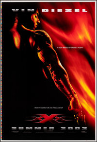 """XXX (Columbia/Tristar, 2002). Rolled, Very Fine. Printer's Proof One Sheet (27"""" X 41"""") SS Advance. Action"""