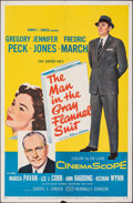 """Movie Posters:Drama, The Man in the Gray Flannel Suit (20th Century Fox, 1956). Folded, Fine/Very Fine. One Sheet (27"""" X 41""""). Drama.. ..."""