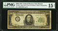 Fr. 2201-A $500 1934 Federal Reserve Note. PMG Choice Fine 15 Net