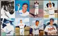 Autographs:Others, Baseball Greats Signed Lot of (15) Photographs and Other Items. ...