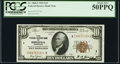 Small Size:Federal Reserve Bank Notes, Fr. 1860-I $10 1929 Federal Reserve Bank Note. PCGS About New 50PPQ.. ...