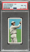 Baseball Cards:Singles (Pre-1930), 1909-11 T206 Piedmont 150 John McGraw (Finger In Air) PSA NM-MT 8 - Pop Two, Four Higher for Brand/Series. ...