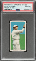 Baseball Cards:Singles (Pre-1930), 1909-11 T206 Sweet Caporal 350/25 John McGraw (Finger In Air) PSA NM-MT 8 - Pop One, None Higher for Brand/Series. ...