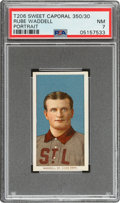 Baseball Cards:Singles (Pre-1930), 1909-11 T206 Sweet Caporal 350/30 Rube Waddell (Portrait) PSA NM 7 - Pop One, One Higher for Brand/Series. ...