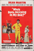"Movie Posters:Comedy, Who's Been Sleeping in My Bed? & Other Lot (Paramount, 1963). Folded, Overall: Fine/Very Fine. One Sheets (2) (27"" X 41""), T... (Total: 4 Items)"