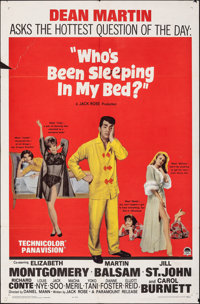 Who's Been Sleeping in My Bed? & Other Lot (Paramount, 1963). Folded, Overall: Fine/Very Fine. One Sheets (2) (27&qu...