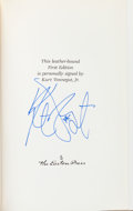 Books:Signed Editions, Kurt Vonnegut Signed Edition of Fates Worse Than Death....