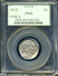 Proof Buffalo Nickels: , 1913 Type Two PR 65 PCGS. ...