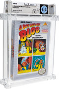 Video Games:Nintendo, A Boy and His Blob: Trouble on Blobolonia [Oval SOQ TM] Wata 8.0 B Sealed NES Absolute 1990 USA....