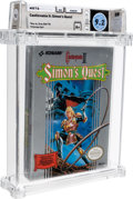 Video Games:Nintendo, Castlevania II: Simon's Quest [Oval SOQ TM] Wata 9.2 A+ Sealed NES Konami 1988 USA....