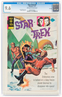 Star Trek #27 File Copy (Gold Key, 1974) CGC NM+ 9.6 Off-white to white pages