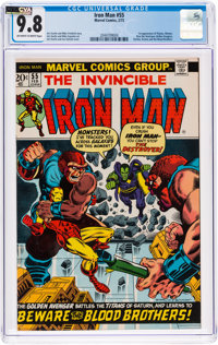 Iron Man #55 (Marvel, 1973) CGC NM/MT 9.8 Off-white to white pages