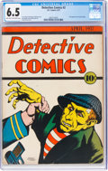 Platinum Age (1897-1937):Miscellaneous, Detective Comics #2 (DC, 1937) CGC FN+ 6.5 Light tan to off-white pages....