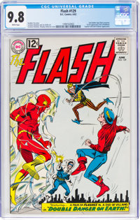 The Flash #129 (DC, 1962) CGC NM/MT 9.8 White pages