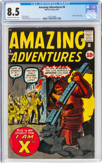 Amazing Adventures #4 (Marvel, 1961) CGC VF+ 8.5 Off-white to white pages