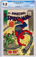 Silver Age (1956-1969):Superhero, The Amazing Spider-Man #53 (Marvel, 1967) CGC NM/MT 9.8 Off-white to white pages....