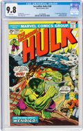 Bronze Age (1970-1979):Superhero, The Incredible Hulk #180 (Marvel, 1974) CGC NM/MT 9.8 White pages....