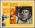 """Movie Posters:Western, High Noon (United Artists, 1952). Very Fine. Title Lobby Card (11"""" X 14""""). Western.. ..."""