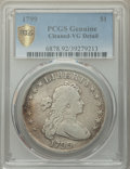1799 $1 7x6 Stars -- Cleaning -- PCGS Genuine. VG Details. Mintage 423,515. ...(PCGS# 6878)