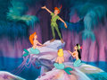 "Animation Art:Limited Edition Cel, Peter Pan ""Peter and the Mermaids"" Limited Edition Cel #96/500 (Walt Disney, 1995)...."